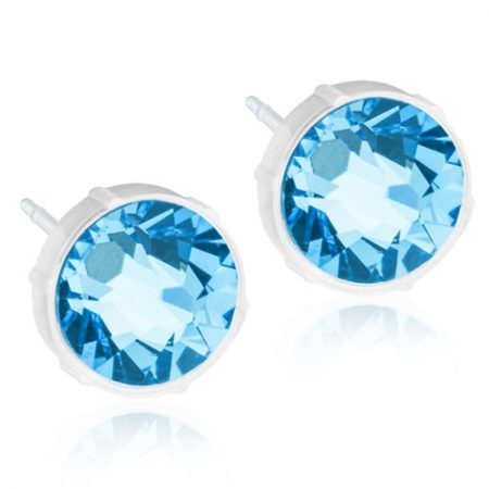 Medical Plastic Round (Aquamarine)