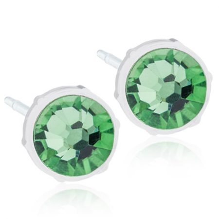 Medical Plastic Round (Peridot)