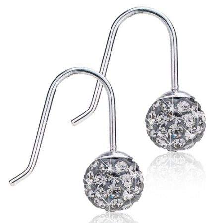 Mini Pendant Crystal Ball Black Diamond