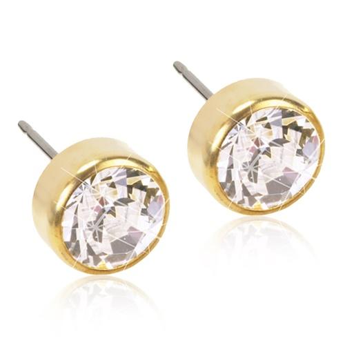 Golden Titanium Bezel (Crystal)