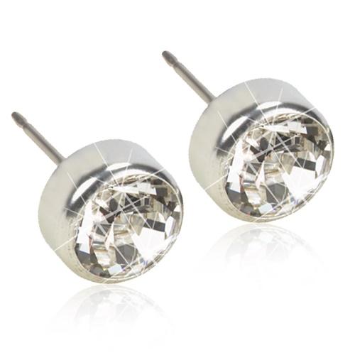 Silver Titanium Bezel (Crystal)