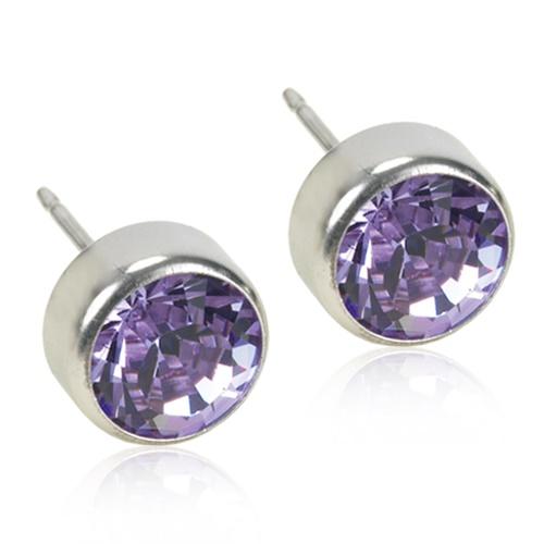 Silver Titanium Bezel (Violet)
