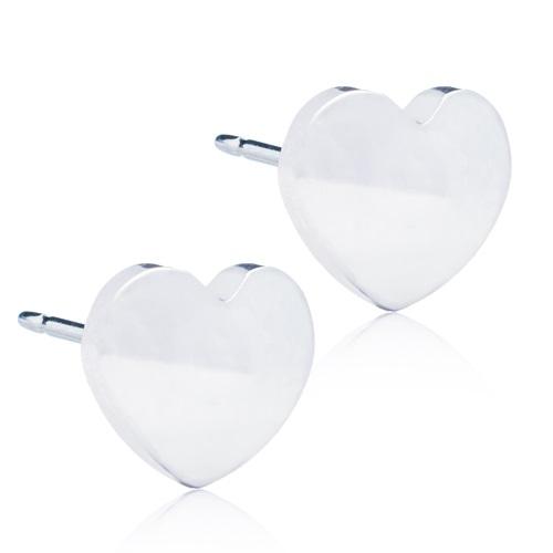 Silver Titanium Heart