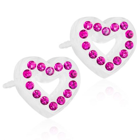 Medical Plastic Brilliance Heart Hollow