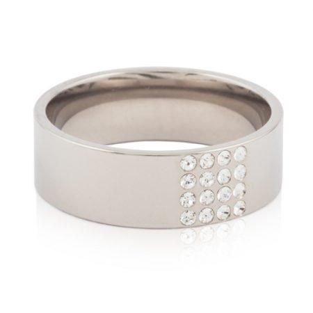 NT Brilliance Square Ring