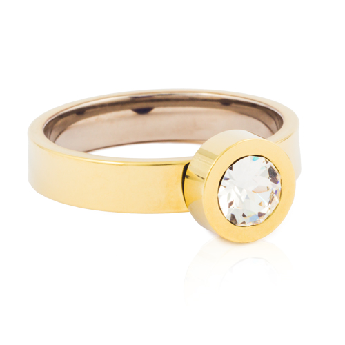 (G) Grand Bezel Crystal Ring