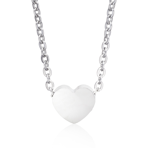 (S) Heart Necklace