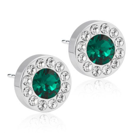 Silver Titanium Brilliance Halo (Crystal/Emerald)